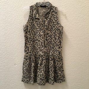 90's Geometric Dress